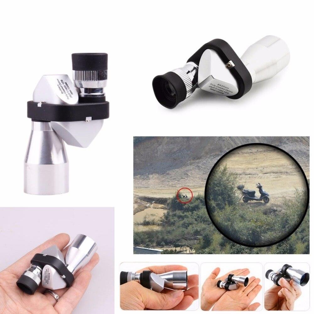 Toy Metal Pocket Portable Small Corner Mini 8X20 Times Telescope Outdoor Monocular Children telescope