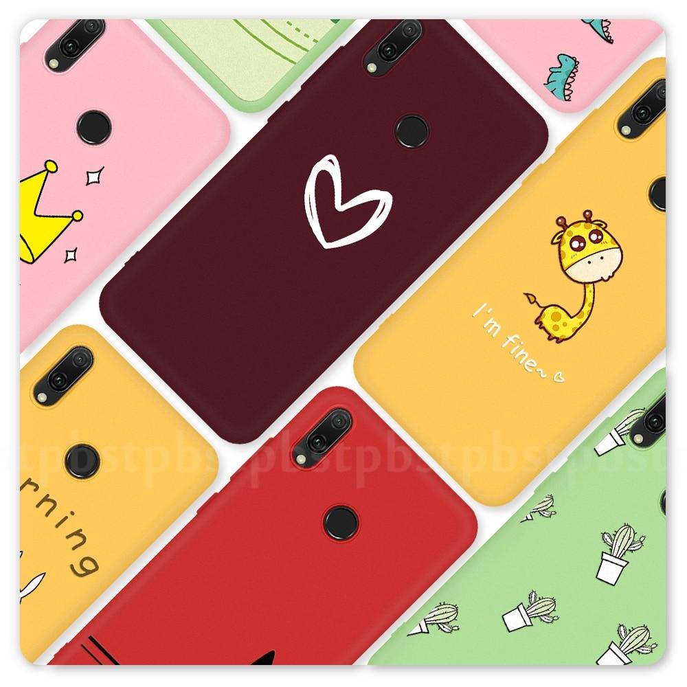 Capa de celular macia ultrafina, para huawei p smart plus 2019 p30 p20 lite 2019 p20 mate 20 pro mate concha de capa de tpu 10 p10 lite