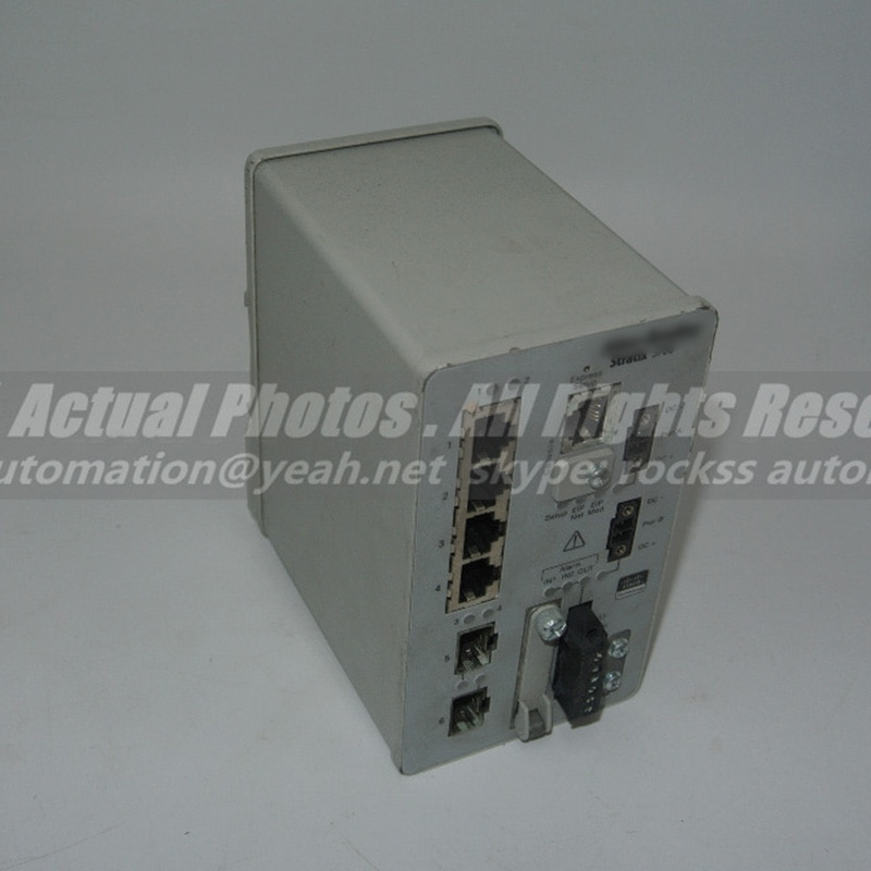 Stratix 2000 مفتاح إيثرنت غير مُدارة 1783-BMS06SL Ser.A مستعمل 100% ٪ تم اختباره مع DHL /EMS مجاني