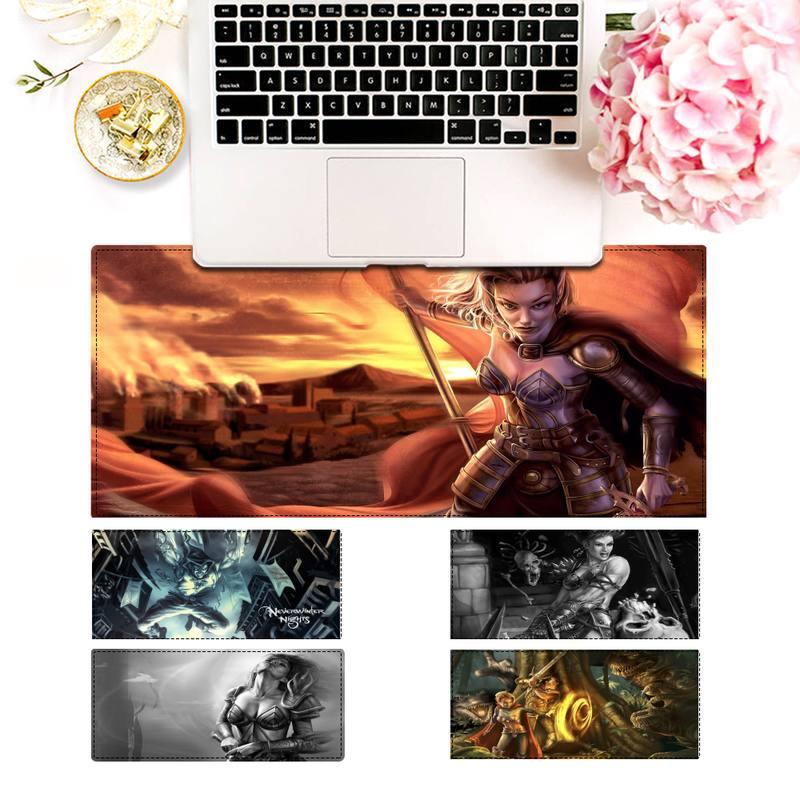 Элегантный игровой коврик для мыши Neverwinter Nights, игровой коврик для клавиатуры, Настольный коврик для мыши, игровые аксессуары для Overwatch
