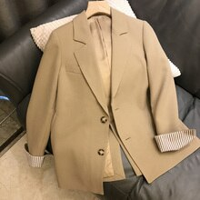 Spring Clothes 2021new Small Internet Celebrity Fried Street Casual Suit Jacket Women's Spring and A