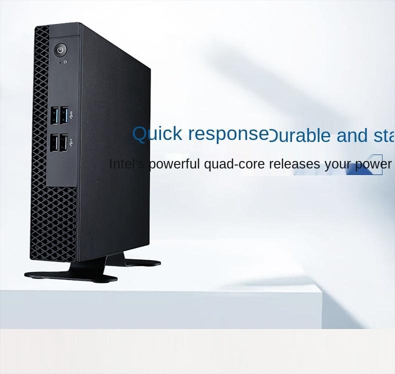 Pan-Union Mini Host Cloud Terminal HD Dual Display Business Thin Client mini pc Education Desktop Cloud Computer