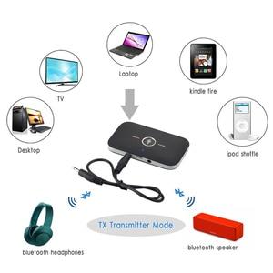 Image 3 - Bluetooth 5,0 передатчик и приемник 2 в 1 RCA 3,5 мм 3,5 Aux разъем стерео музыка аудио беспроводной адаптер для автомобиля ТВ ПК наушников