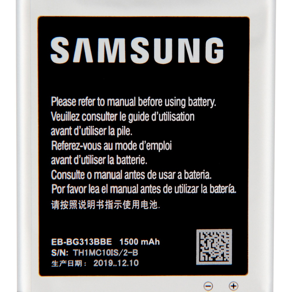 Original Replacement Phone Battery EB-BG313BBE For Samsung Galaxy ACE4 Lite G313H S7272 s7898 S7562C Authentic Battery 1500mAh enlarge