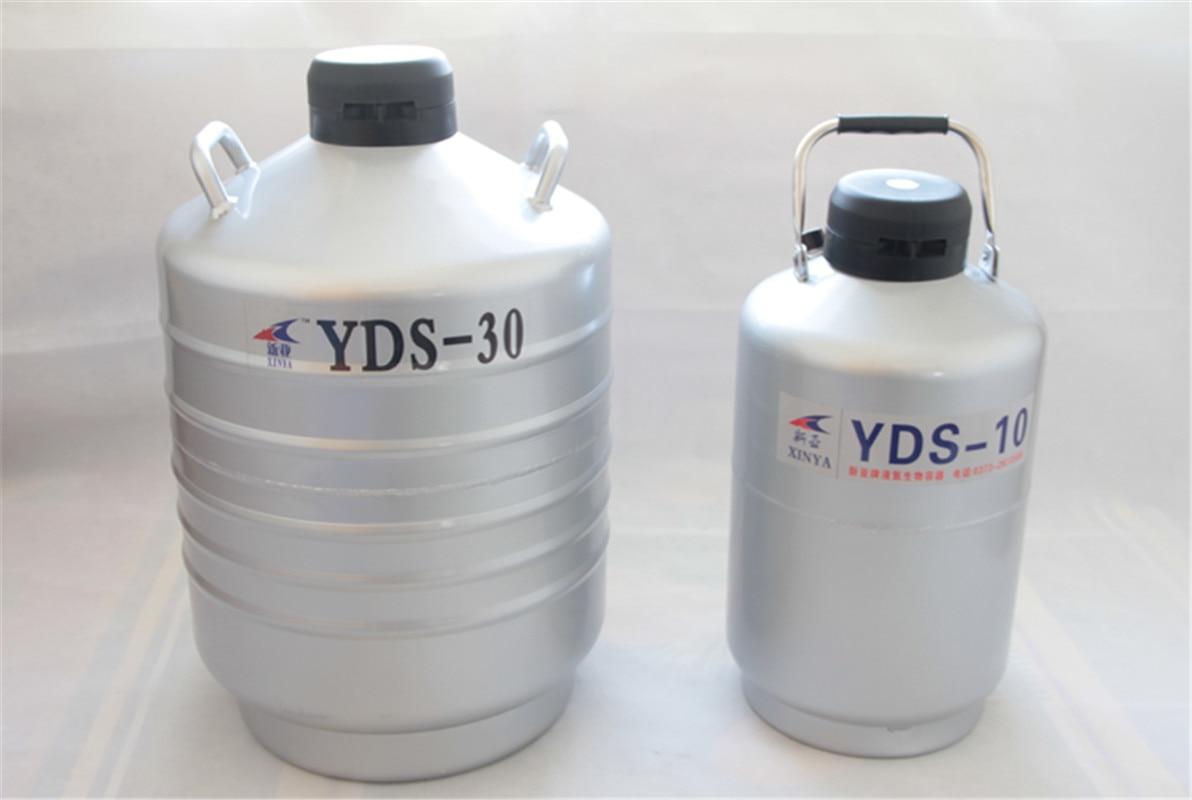 3/6/10/15/30L Liquid nitrogen container Cryogenic Tank dewar liquid nitrogen container with Liquid Nitrogen tank YDS-10 enlarge