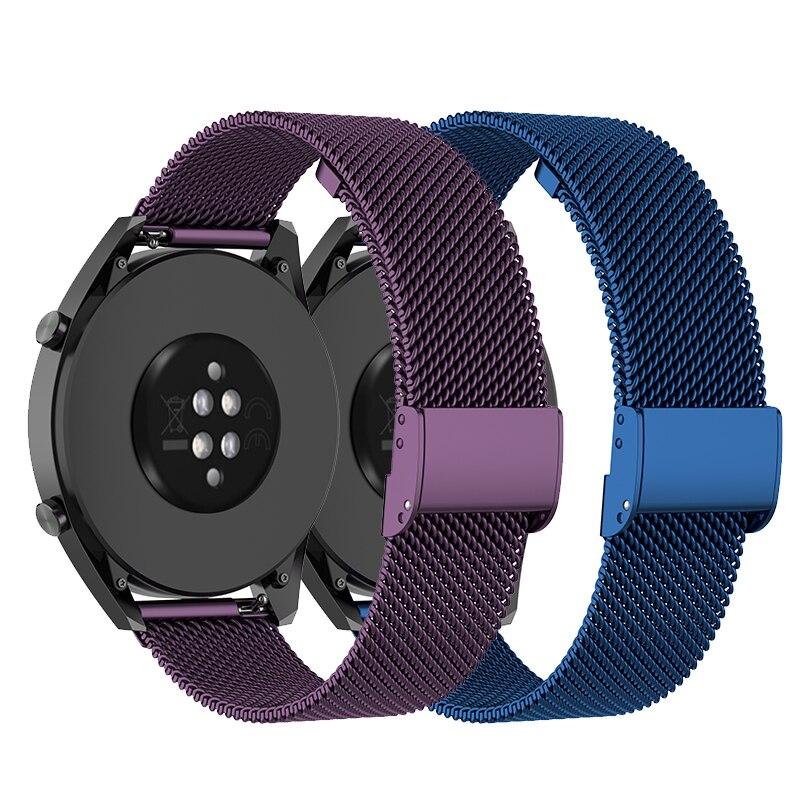 Stainless Steel Band For Umidigi Uwatch 2S/3S Strap For Umidigi Urun/Uwatch Metal Bracelet Smart Watch Accessories Adjust Loop