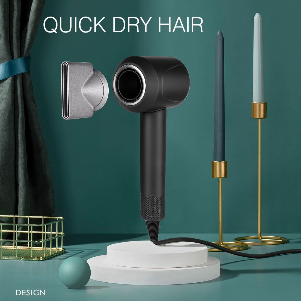 Leafless Hair Dryer Negative Ion hair care Professinal Quick Dry 220V Home Powerful Hairdryer Constant Anion Electric Hair Dryer enlarge