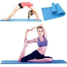 Yoga Zerbino per Adulti amaca Addensato antiscivolo 183cmX61cm Yoga Zerbino NBR Fitness Gym Zerbino s Cuscino Sport Ginnastica pilates Pastiglie