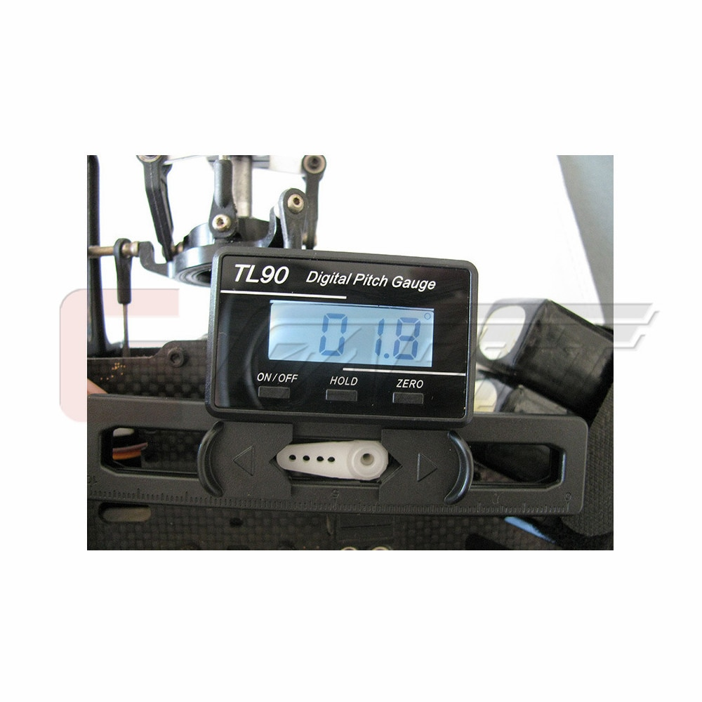 5PCS/LOT GARTT Electronic Digital Pitch Gauge For RC Helicopter Accessories enlarge