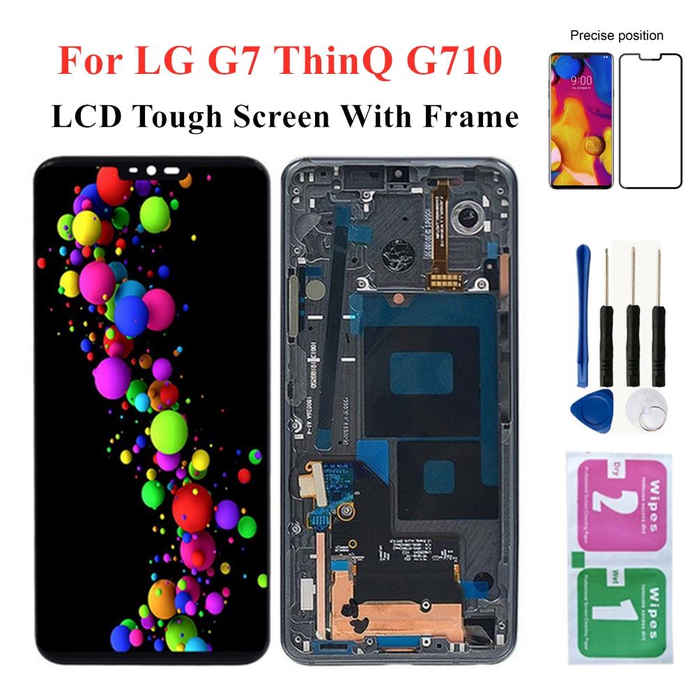 Display pantalla para lg g7 thinq g710/g7 display toque digitador da tela assemblyfor lg thinq g710 g710pm g710tm