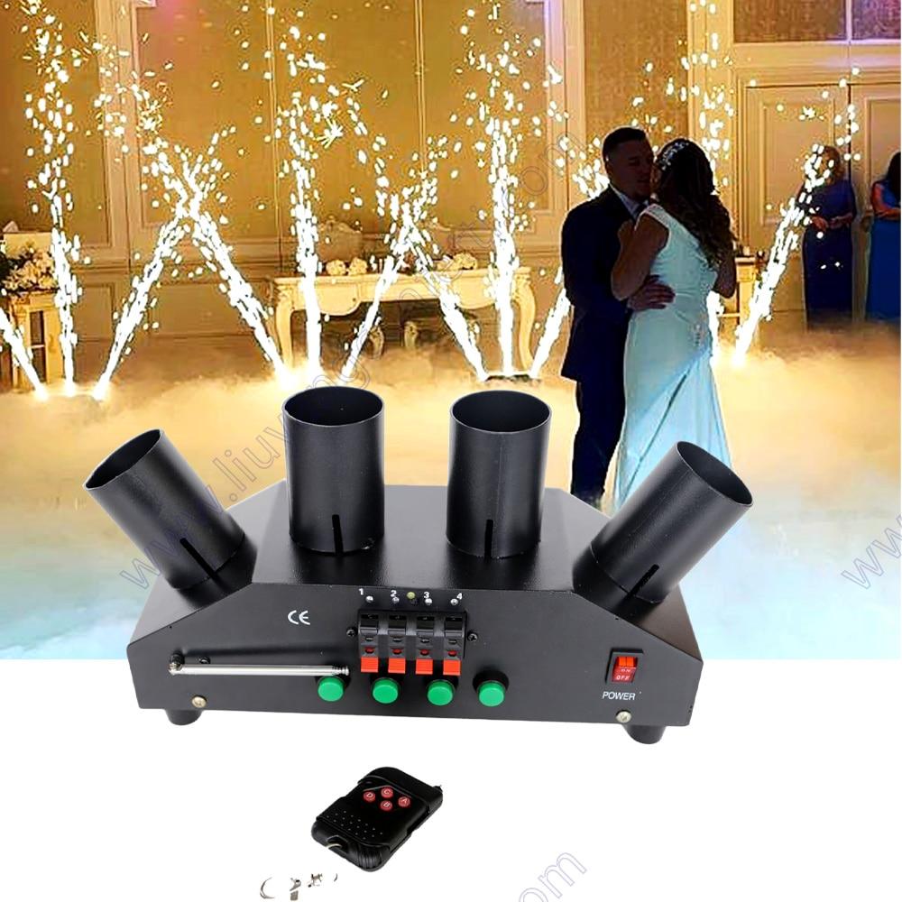 Firework System Fire Party Stage Cold Spark Wedding Flame Fountain Remote Control Sparkler Machine Night Club Dj Pyro Wireless