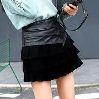 new sheepskin wrap hip skirt free shipping one piece promotion