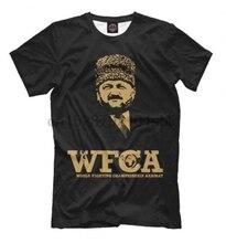 Chechnya Wfca Akhmad Fight Club T Shirt Chechen Republic 2018 Brand T Shirt Homme Tees Men Summer Short Sleeves