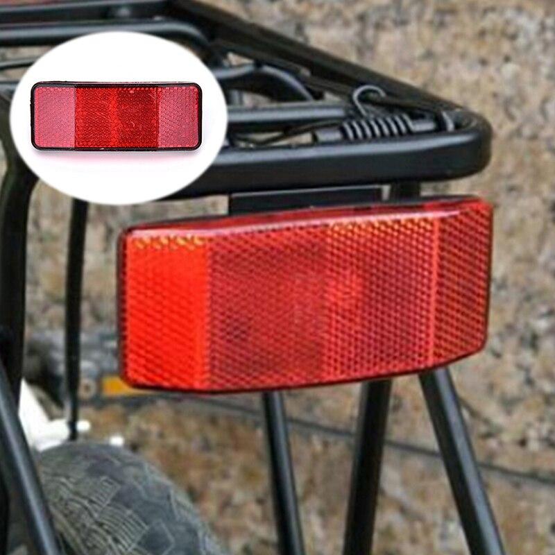 Bicicleta estante Reflector impermeable LED luz trasera bombilla roja volver a montar seguridad advertencia Reflector de linterna Accesorios