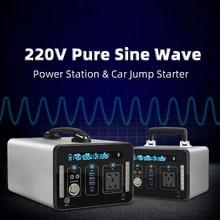 Estación de suministro de energía MPPT integrada 110V 220V 230V 240V Estación de alimentación portátil 1000wh inversor de CA de emergencia