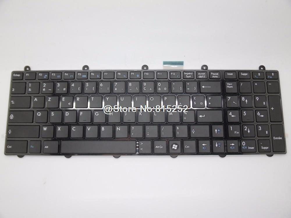 Nuevo teclado para MSI GT780 V123322BK1 AR S1N-3EAR251-SA0 FR S1N-3EFR281-SA0 HB S1N-3EHB241-SA0 es S1N-3EIT281-SA0 ser CA CZ FS