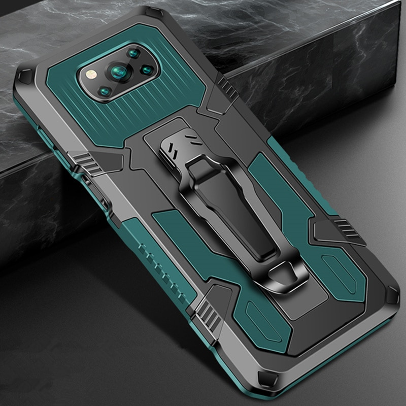 Shockproof Case For Xiaomi POCO X3 NFC Redmi Note 9 9S 7 8 5 10 Pro 9A 9C For Xiaomi POCO X3 Rugged