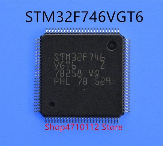 1 unids/lote STM32F746VGT6 STM32F746VG STM32F746 LQFP-100