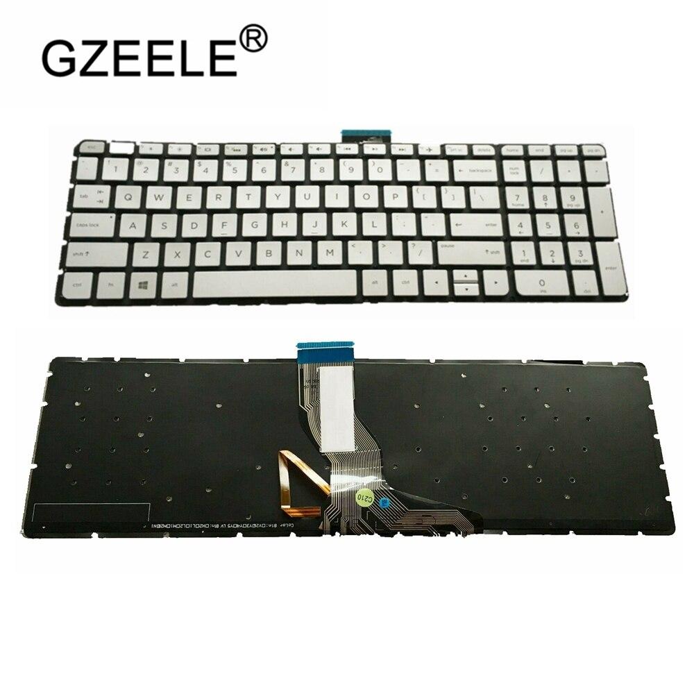 GZEELE اكسسوارات الكمبيوتر المحمول الإنجليزية لوحة المفاتيح ل HP الحسد m7-u m7-u109dx m7-u011dx 17-u 17-u273cl/u175nr/u177nr الخلفية لنا
