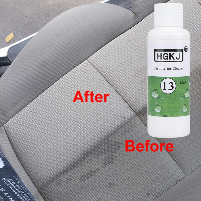 News HGKJ 20/50ML Car Seat Interiors Cleaner Car Windshield Cleaning Car Accessories Car Goods(1:8 D