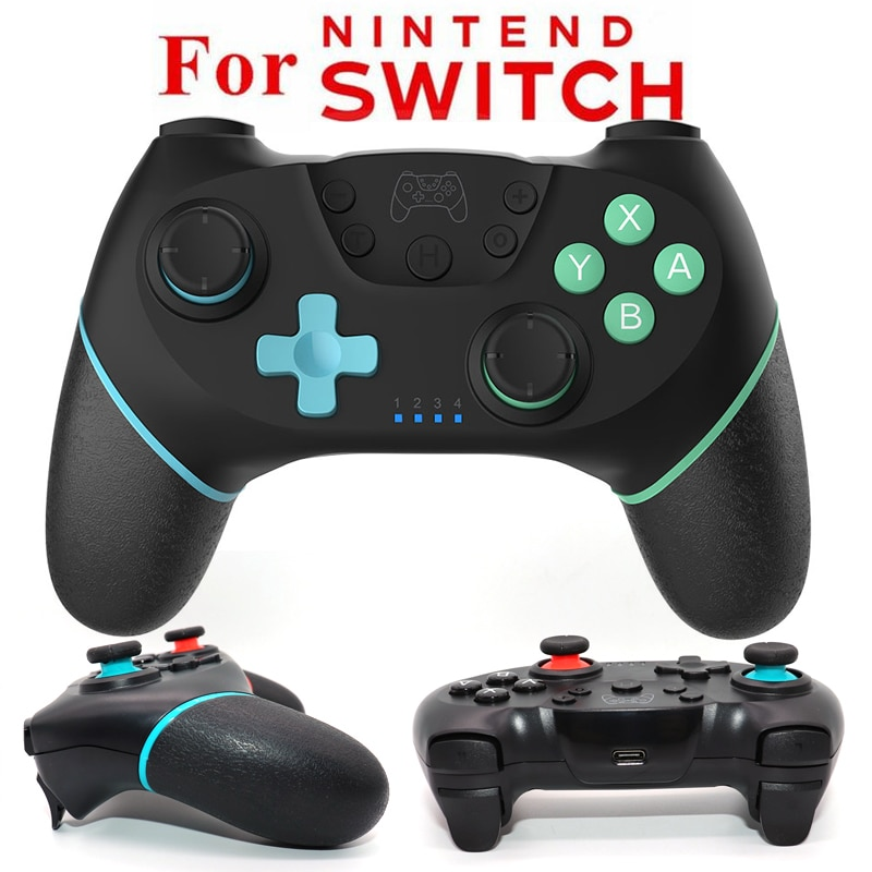 Bluetooth-compatible Pro Game Controller Wireless Gamepad Applies To NS-Switch Supports Dual Motor V