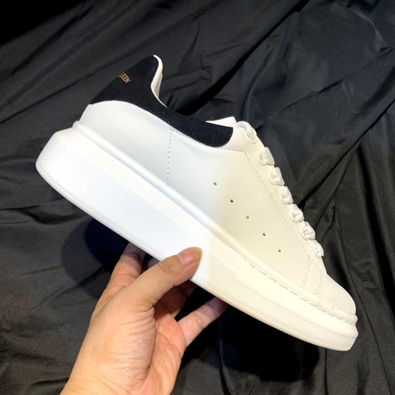 2021 Platforms Shoes Women Chunky Sneakers Woman Sneakers Fashion New Plush Warm Ankle White Shoes Couple Shoes 35-40 Platforms technological platforms