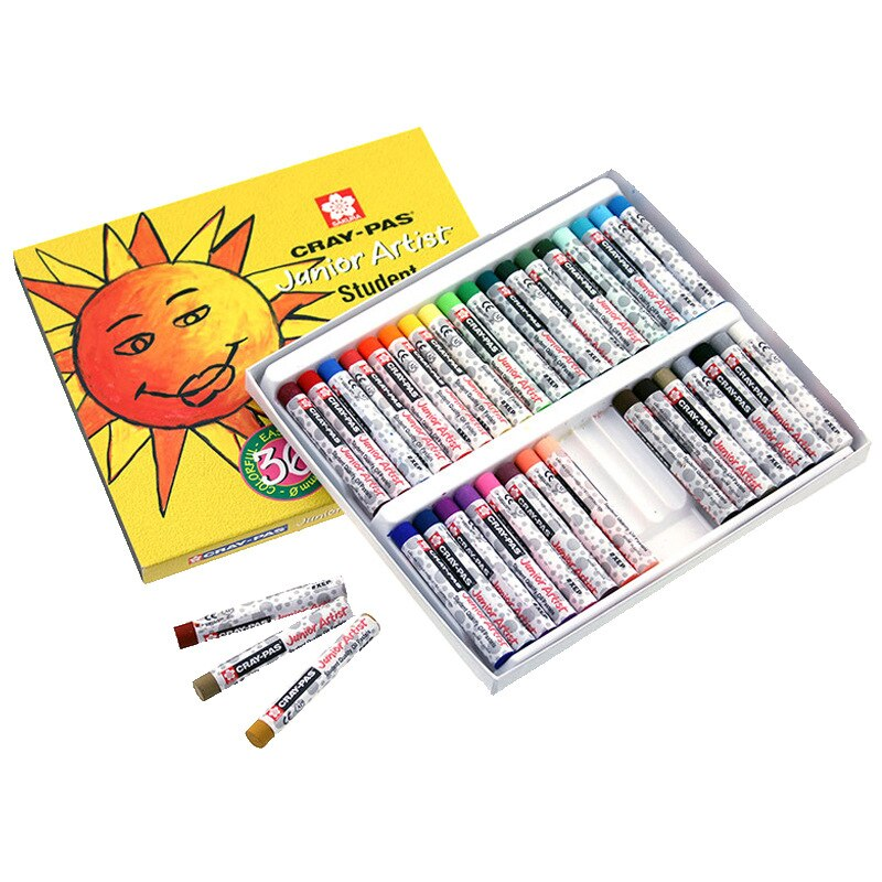 Японские карандаши для рисования цветущей вишни, 36 цветов, карандаши для рисования маслом, Детские карандаши для рисования, специальные кар...