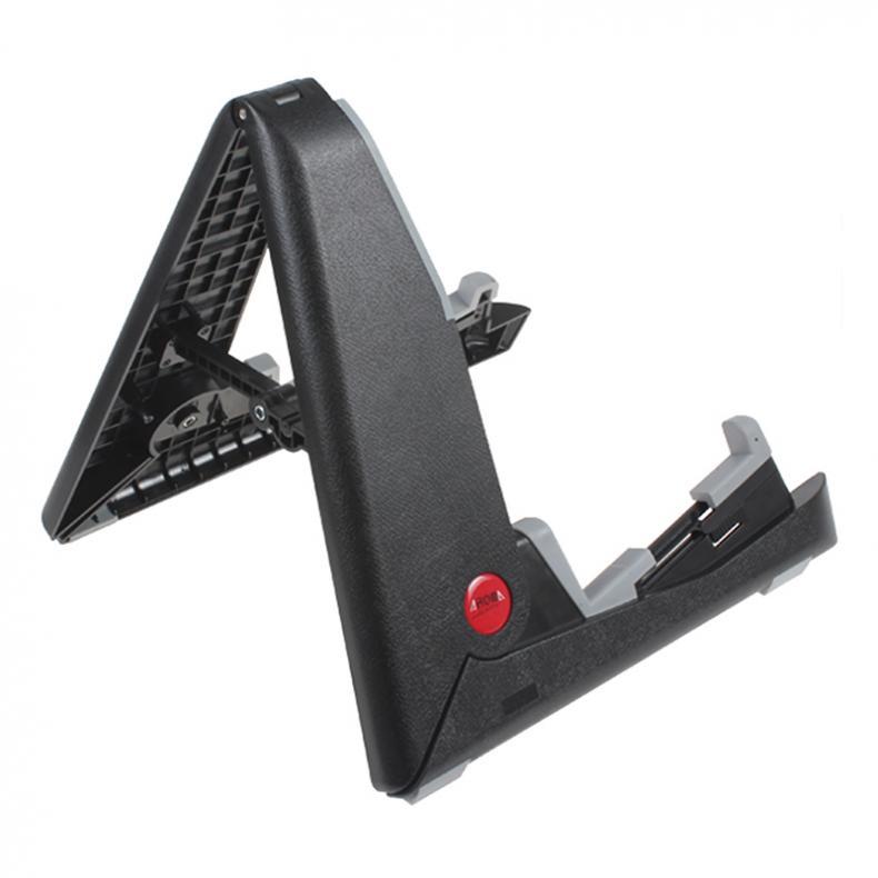 Black Portable Folding Guitar Stand For Acoustic Guitar enlarge