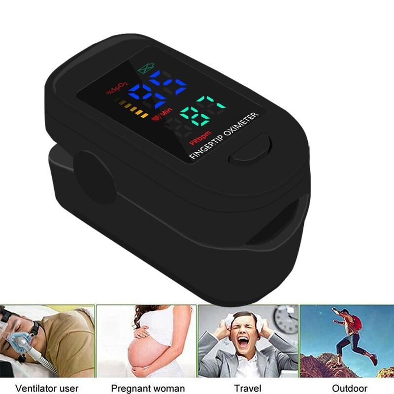 LED SPO2 PR Monitor health Care Medical Household Digital Fingertip pulse Oximeter Blood Oxygen Saturation Meter
