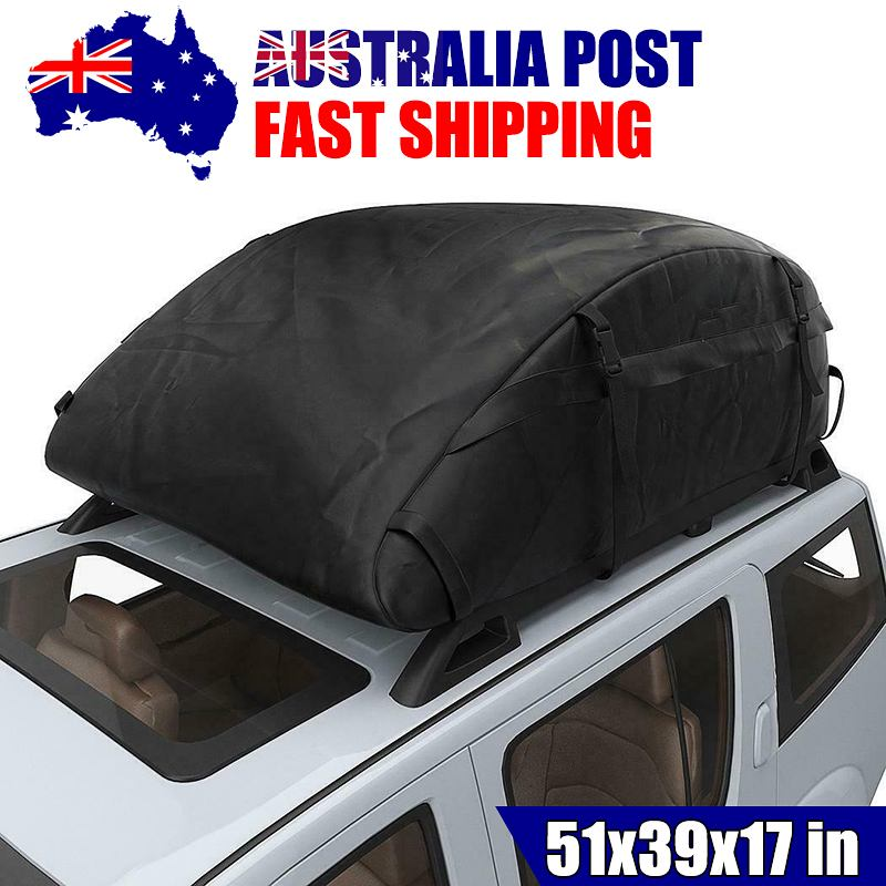 130X100X43CM Car Top Roof Rear Trunk SUV Cargo Luggage Baggage Bag Waterproof Rooftop Luggage Carrie