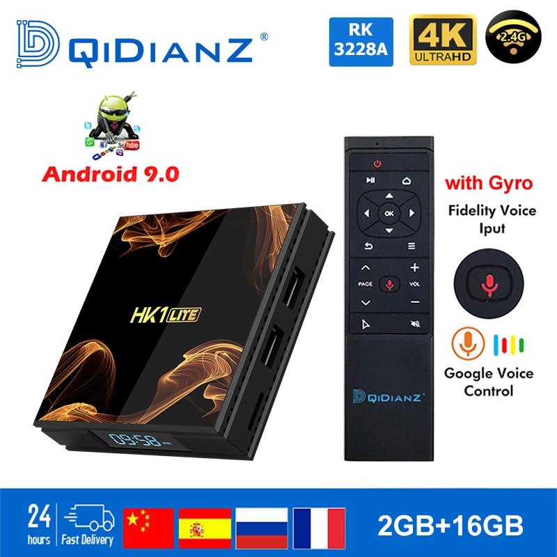 Android 9.0 Smart TV BOX hk1LITE  Netflix Media Play Store Free App Set top BOX PK HK1MAX H96 a95x