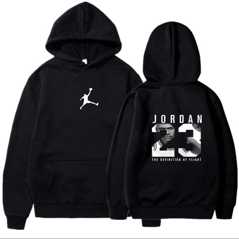 Hoodie dos homens agasalho casaco de suor casual hoodies 2020 marca masculina hip hop manga longa jordan 23 com capuz sweatshir
