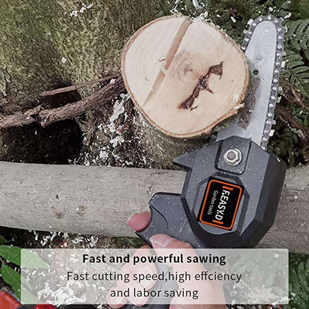 Electric Pruning Saw Mini Chainsaw Cordless Electric Professional Chainsaw Brushless Motor For Cutting Branches enlarge