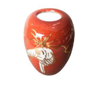 China Old Porcelain Painted Glaze Jar
