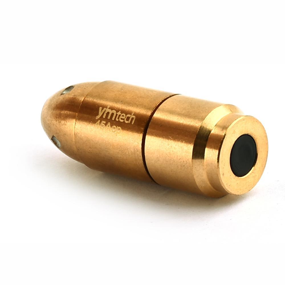 Тренировочная пуля 45 ACP Red Dot, лазерный патрон boresight с вкл/выкл, более удобный