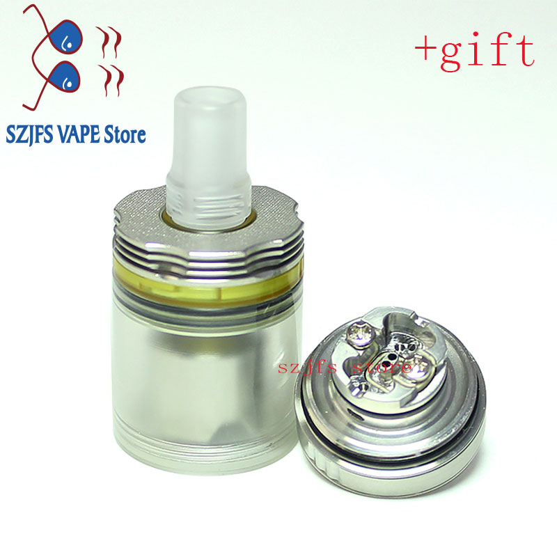 SXK ULTIMA 415 style 22mm RTA Single build coil atomizer for 510 thread vape mods Electronic Cigarette Box Mod vape tank Haar enlarge