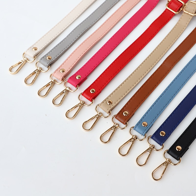 New 138cm Long PU Leather Shoulder Bag Strap bag Handles DIY Replacement Purse Handle for Handbag Belts Strap Bag Accessories