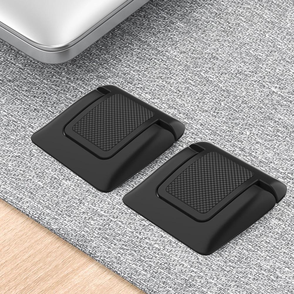 Держатель для ноутбука, подставки для ноутбука, пластиковые подставки для мини-ноутбука, невидимые подставки, складной охлаждающий держате...