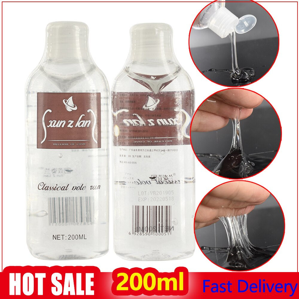 200ml Water Base Lubricant of Sex Anal Oil ,Vagina Gel Intimate Body SPA Massage Oil Japan AV Lube C