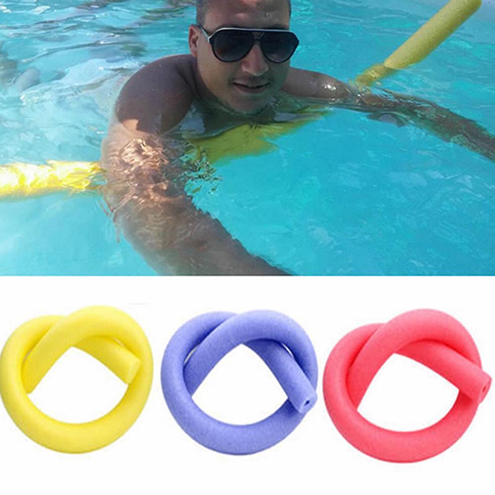 Flexible, diversión, piscina, espuma, fideos huecos para agua, Flotador para niños y adultos, ayuda para nadar, accesorios deportivos al aire libre