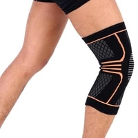 sports knee support knee brace pads breathable leg sleeve support for basketball volleyball gym weight lift running knee brace