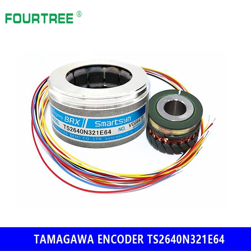 جهاز تشفير TAMAGAWA BRX Smartsyn ، TS2640N321E64 ، محرك سيرفو ، آلة التشكيل بالحقن ، محول دوار ، جديد