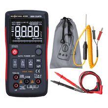 RM409B cyfrowy multimetr przycisk 9999 liczy dokładność pomiaru z analogowy wykres słupkowy AC DC amperomierz prądu Ohm