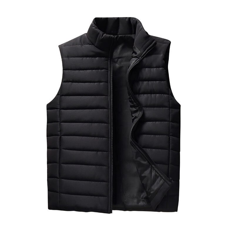 Spring Autumn Men Vest 2019 New Stylish Plus Size 5XL Warm Sleeveless Jacket Men Winter Waistcoat Me