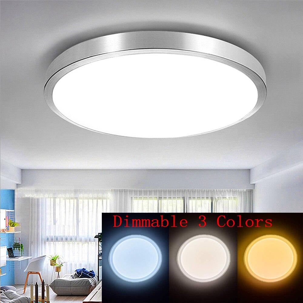 Светодиодные потолочные светильники, 48 Вт, потолочные светильники для гостиной, светодиодные светильники для дома, потолочные комнатные св...