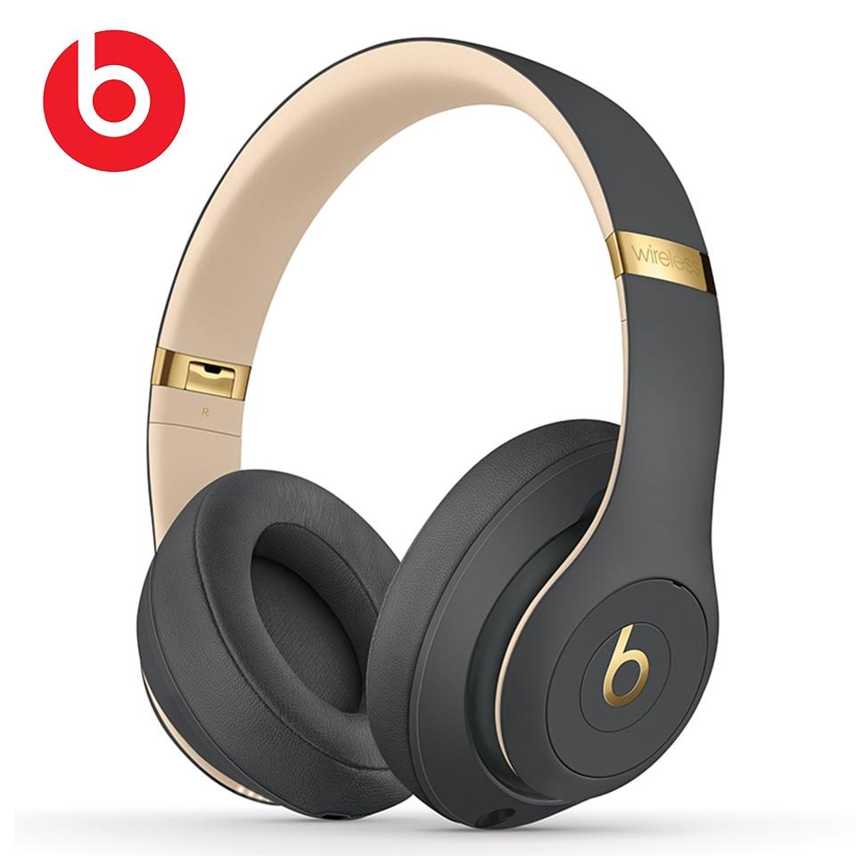 Beats Studio3-سماعات بلوتوث لاسلكية ، سماعة استوديو 3 ، إلغاء الضوضاء ، موسيقى ، رياضة ، جهير عميق ، بدون استخدام اليدين ، مع ميكروفون