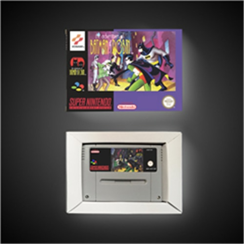 Las aventuras de Batman y Robin-Versión de EUR tarjeta de juego de acción con caja de venta al por menor