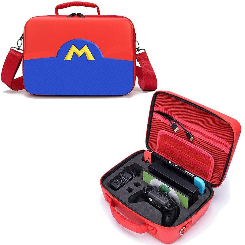 Pour Portable Nintendo Switch sac de rangement étanche mallette de voyage bandoulière luxe sac à main pour NS Swtich accessoires