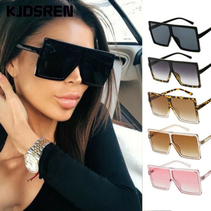 Nuevas gafas de sol de moda 2020 para mujer, gafas cuadradas clásicas muy grandes de gran tamaño, gafas de sol cuadradas para mujer, gafas de sol para mujer