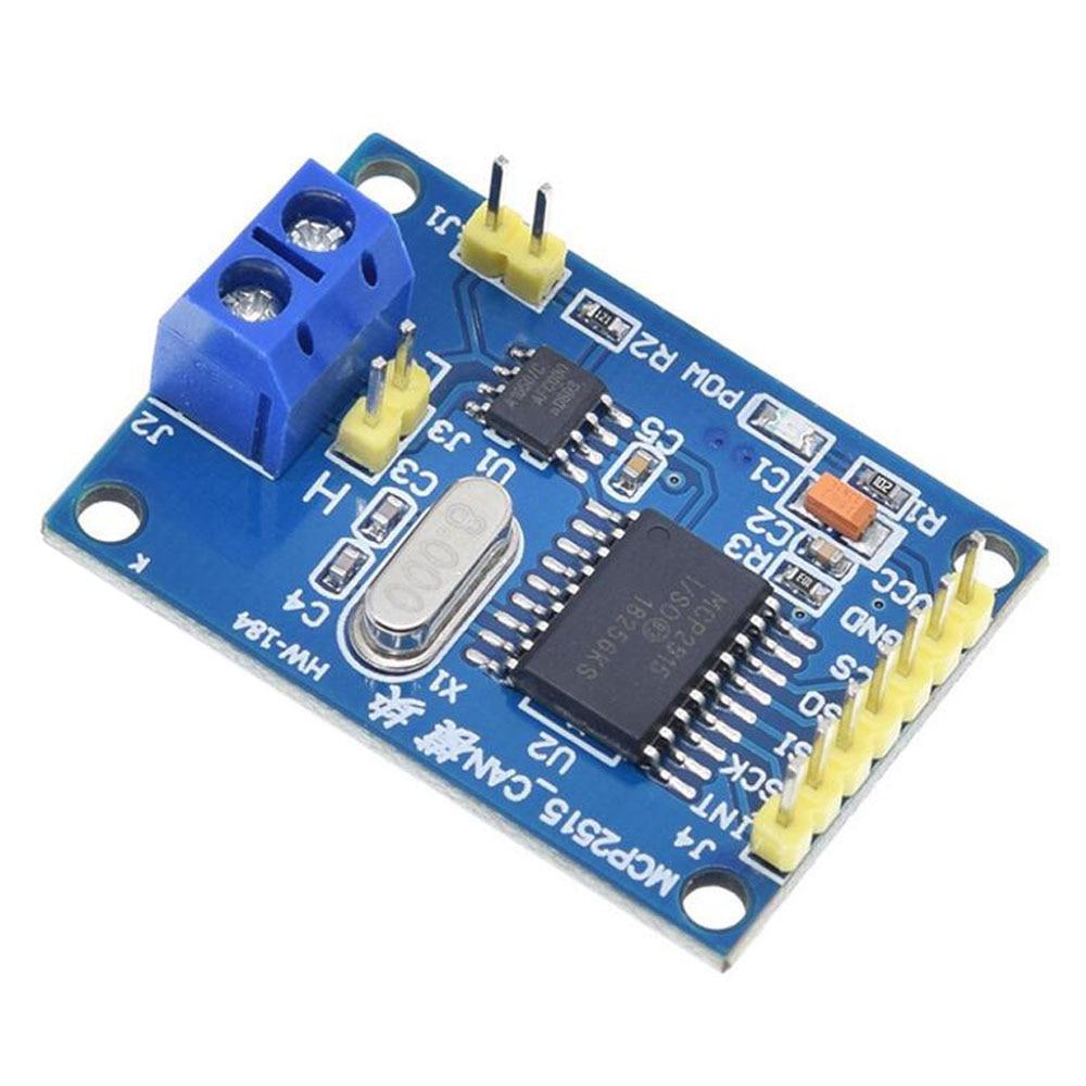 Módulo CAN Bus MCP2515, receptor TJA1050, Protocolo SPI, 51, routes de programa de microcontrolador